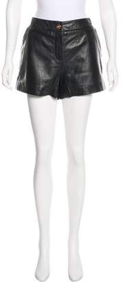 Ted Baker Leather Mini Shorts w/ Tags