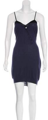 3.1 Phillip Lim Cashmere Silk-Trimmed Dress