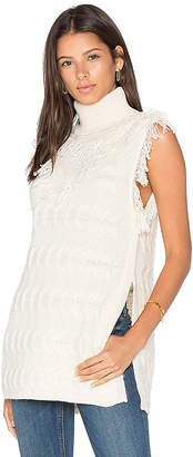 Fine Collection DAPHNE スリーブレスセーター