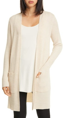 Eileen Fisher Simple Merino Wool Cardigan