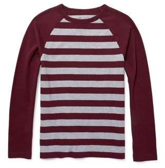 Children's Place The Long Sleeve Stripe Raglan Tee Shirt (Little Boys & Big Boys)