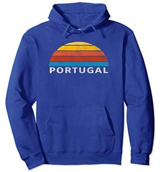 Portugal Retro Sunset Hoodie