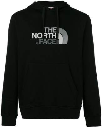 The North Face logo embroidered hoodie