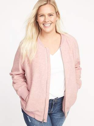 Old Navy Textured Jacquard Plus-Size Bomber Jacket