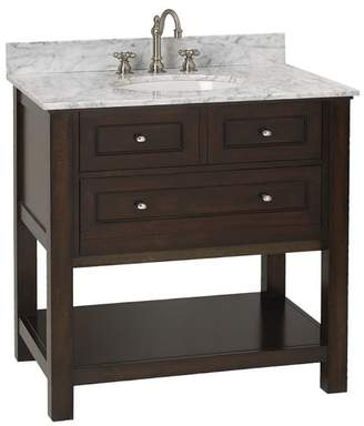 Pottery Barn Classic Single Sink Console - Espresso Finish