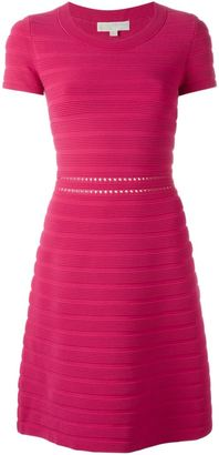 Michael Michael Kors ribbed knit dress $240.60 thestylecure.com
