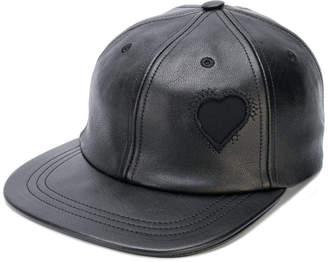heart patch baseball cap