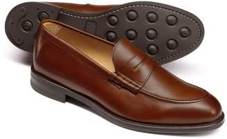Charles Tyrwhitt Chestnut Penny Loafers Size 11