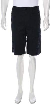 Burberry Twill Cargo Shorts