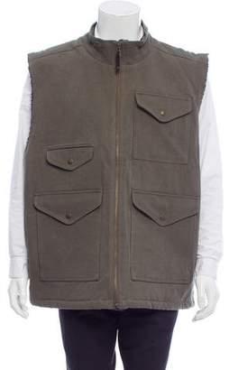 Filson Canvas Zip-Up Vest