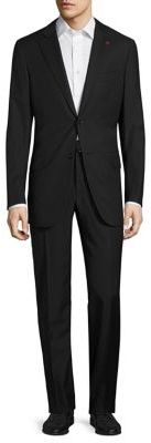 ISAIA Regular-Fit Thin Stripe Wool Suit $3,295 thestylecure.com