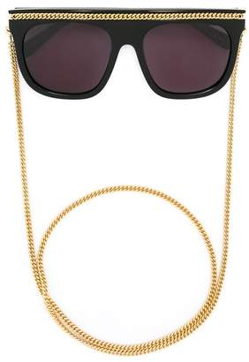 Stella McCartney Eyewear 'Falabella' oversized sunglasses