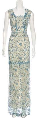 Vilshenko Lace Evening Dress