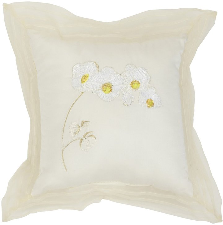 Wamsutta Orchid Embroidered Pillow
