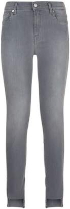 7 For All Mankind Slim Illusion Skinny Raw Hem Jeans