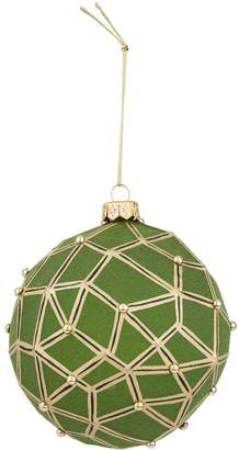 Harrods Geometric Christmas Bauble