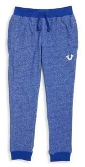 True Religion Little Boy's Royal Cotton Sweatpants