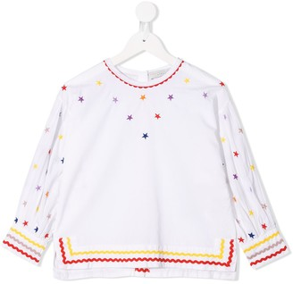 Stella McCartney embroidered blouse