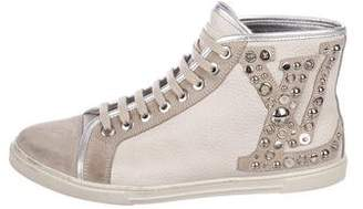 Louis Vuitton Studded Punchy Sneakers