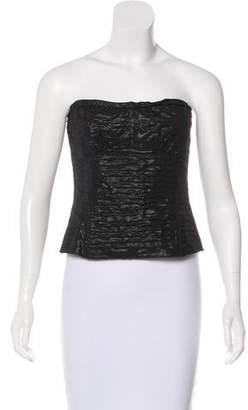 Dolce & Gabbana Ruched Crop Top