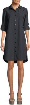 Finley Alex Button-Front Shirtdress