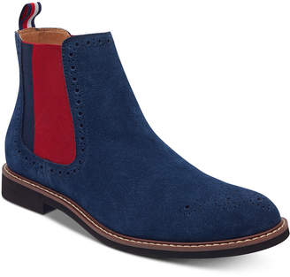 Tommy Hilfiger Men's Gainer Suede Chelsea Boots Men's Shoes