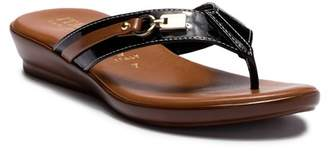 Italian Shoemakers Hardware Thong Sandal