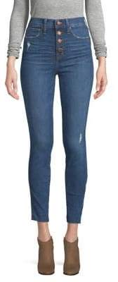 Madewell High-Rise Button-Front Skinny Jeans