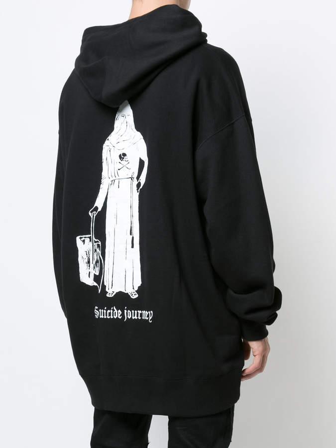 Kidill long-line hoodie