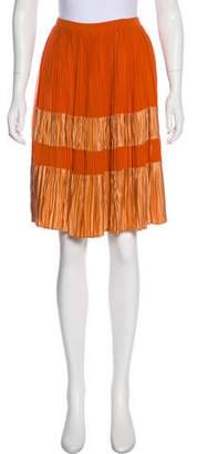 Derek Lam Silk Knee-Length Skirt