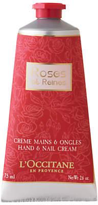 L'Occitane Rose et Reines Hand & Nail Cream, 75ml