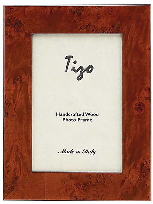 "Burlington Tizo Brown"" Frame, 4"" x 6"""
