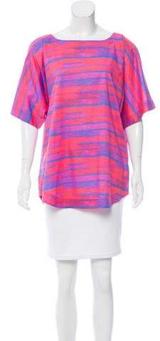 Marc by Marc Jacobs Abstract Print Cover-Up Top w/ Tags