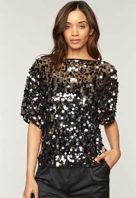 Milly Paillettes Dolman Top