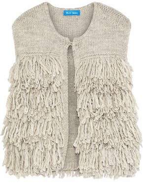 MiH Jeans Fringed Knitted Vest