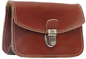 NEW Small brown leather purse Women's by Miniseri