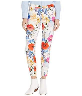 7 For All Mankind Printed Ankle Skinny in Seaside Poppies