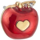 Marc Jacobs Embellished Apple Stud