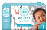 The Honest Company Pandas/Giraffes Size 1 Club Box Diapers