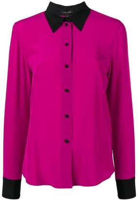 Marc Jacobs contrast silk shirt