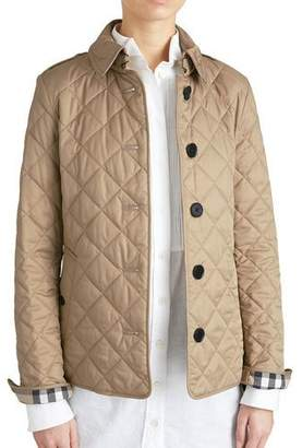 Burberry Frankby Quilted Jacket, Canvas