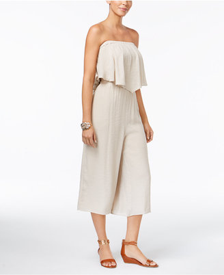 Thalia Sodi Off-The-Shoulder Wide-Leg Jumpsuit, Only at Macy's $99.50 thestylecure.com