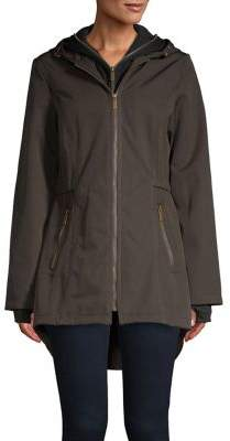French Connection Layered Soft Shell Jacket