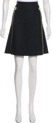 Mayle Knee-Length A-Line Skirt