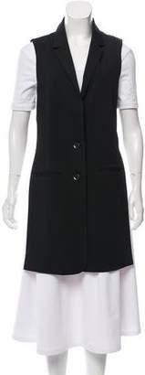 Marissa Webb Sleeveless Button-Up Vest