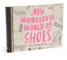 Chronicle Books My Wonderful World Of Shoes Book
