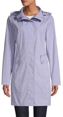 Cole Haan Tonal Stitched Rain Jacket