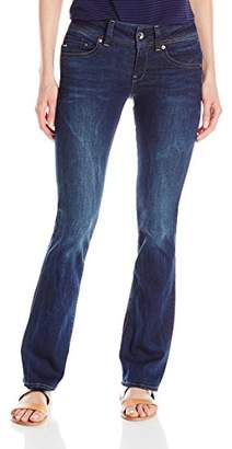 G-Star Raw Women's Midge Saddle Mid Rise Bootleg Fit Jean in Neutro Stretch $70.96 thestylecure.com