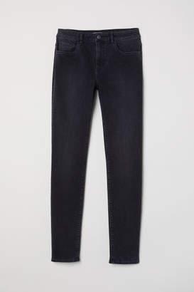 H&M Pants Skinny fit - Gray