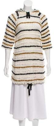 Isabel Marant Crochet Hooded Tunic